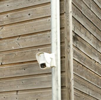 Description détecteur extérieur et sirène d'alarme