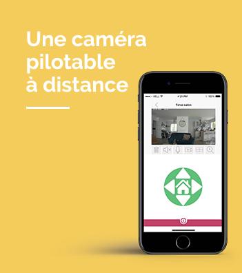 Caméra pilotable à distance